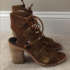 Worn once! dolce vita gladiator heels 7.5